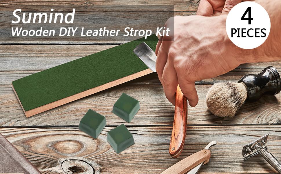 Amazon.com: sumind 4 piezas de bricolaje piel strops Kit ...