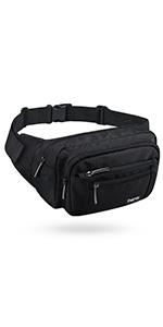 freetoo waist pack black