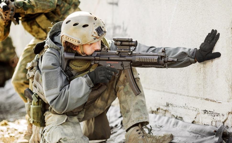 airsoft gloves hunting shooting CS