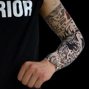 Tatouage temporaire bras manches Arts