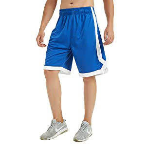 Taxa Mens Reversible Basketball Shorts