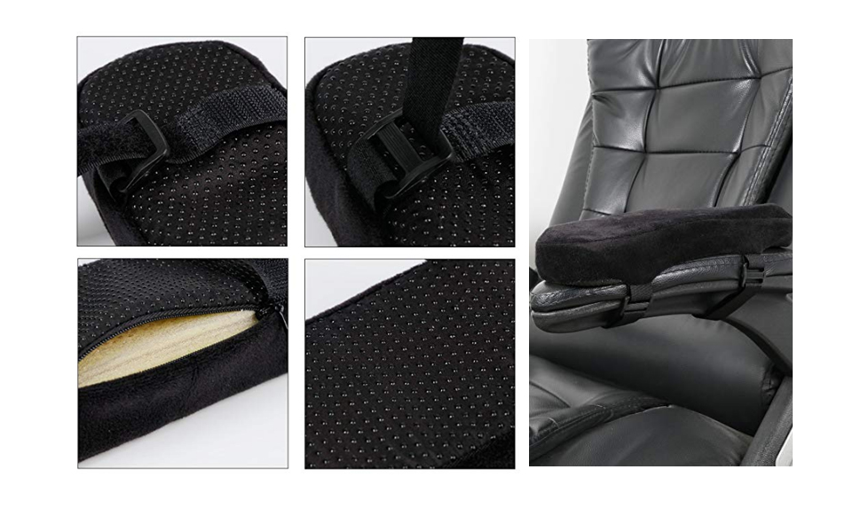 Amazon Com Chair Armrest Pads And Memory Foam Elbow