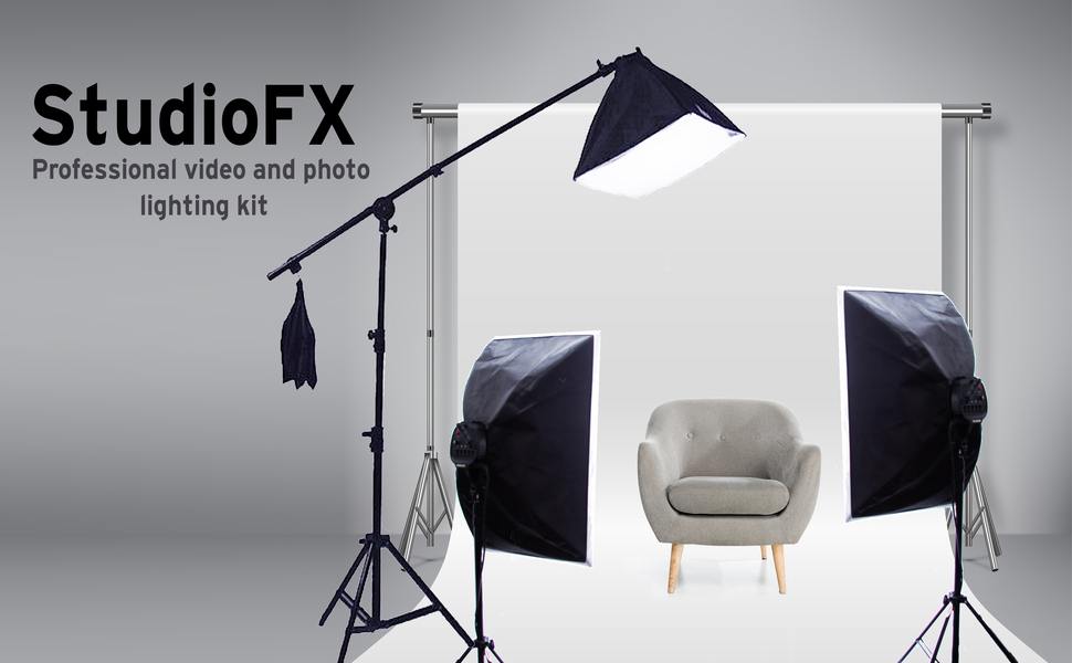 StudioFX photo and video lighting kits