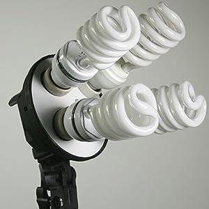 4 Bulb Light Bank