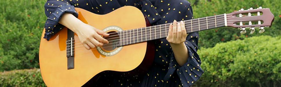 39 inch classical guitar
