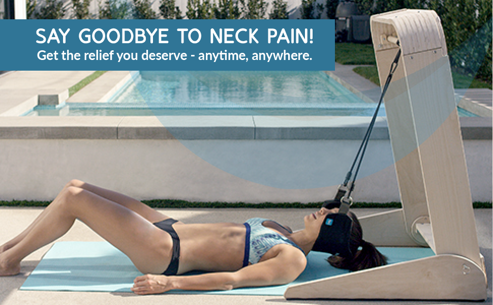 Say goodbye to neck pain! Get the relief you deserve anytime, anywhere.