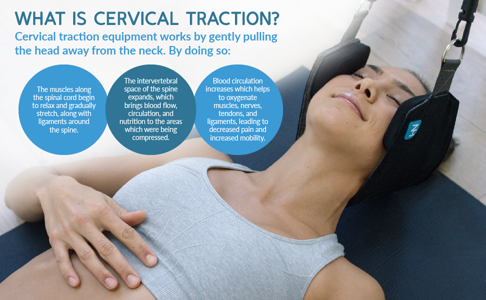 Created by a doctor, the Neck Hammock is a relieving cervical traction method for people on the go.