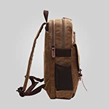 Rucksack Leather Backpack for Men