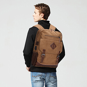 USB TRAVEL BACKPACK