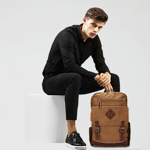 Mens Casual Backpack
