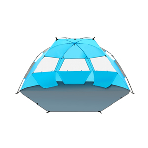 TAGVO Pop Up Beach Tent Sun Shelter with Privacy Front Door