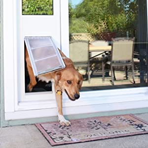 Endura Flap Pet Door Insert for Sliding Glass Doors