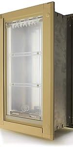 Endura flap tan wall mount single flap