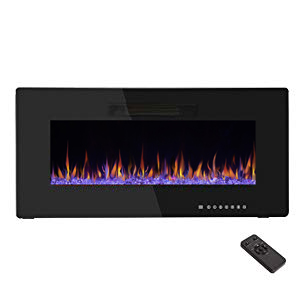 36 inch Electric Fireplace Heater