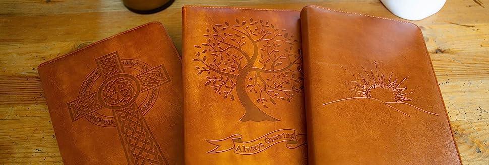 embossed journals