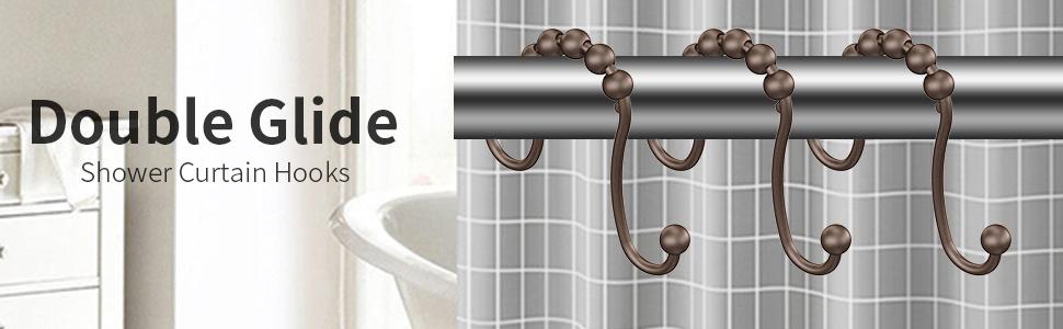 Amazon Moldiy Bathroom Shower Curtain Hooks Novelty