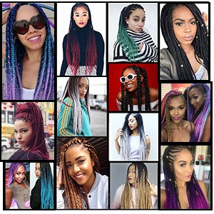braiding hair for black women