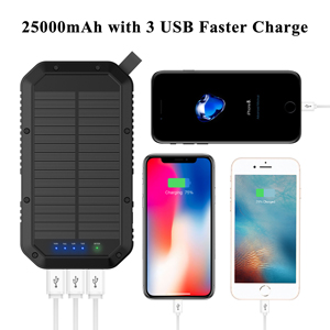 mobile power pack camping power bank charging portable eternal charger mobile phone charger