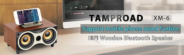 TAMPROAD Wireless Bluetooth Speaker