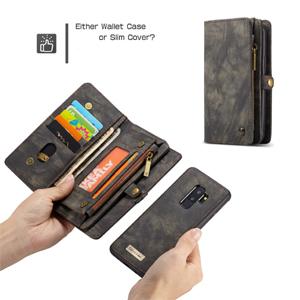 Smart Detachable Magnetic Back Wallet Case