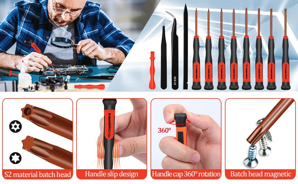 torx screwdriver set