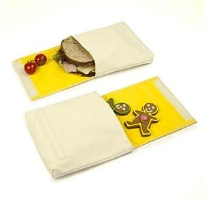 sandwich bag reusable washable tote