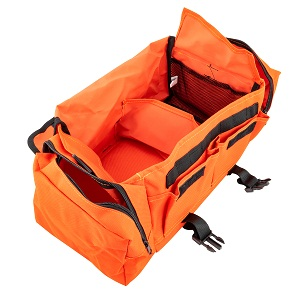 complete responder nurse doctor water ambulance compartment personal empty gear portable travel