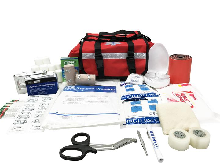 LINE2design First Aid Kit - EMS EMT Paramedic Rescue Emergency Fully  Stocked Professional