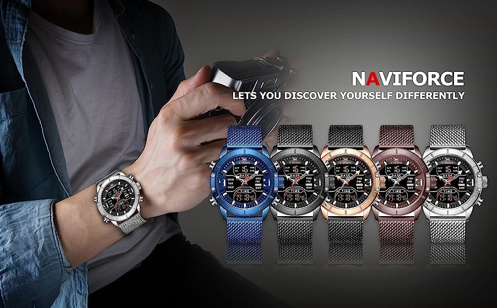 digital watch men waterproof