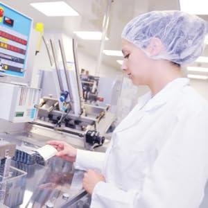 Quality control check in Bondi Morning laboratory