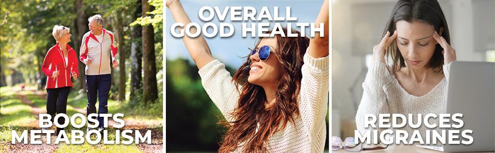 reduce migraine vitamin b2 health boost riboflavin forest leaf