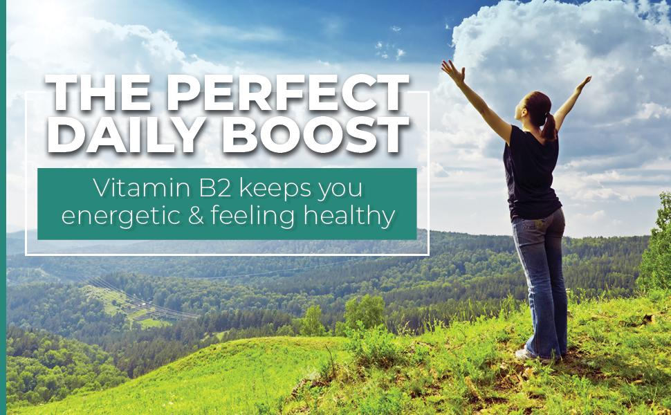 energy boost riboflavin vitamin b 2