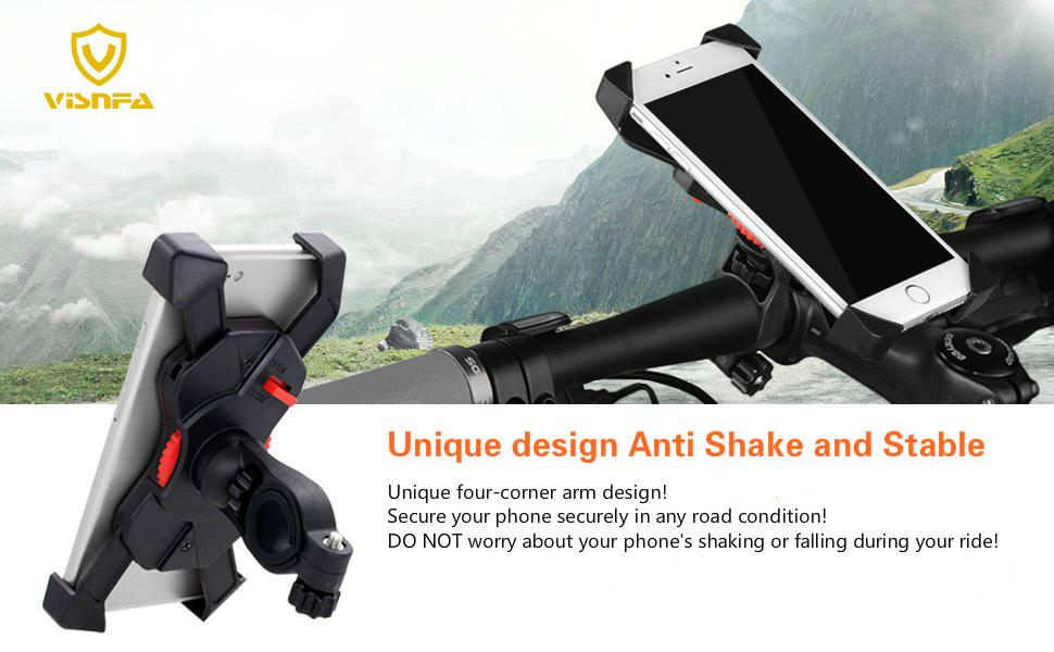 visnfa bike phone mount bike phone holder bicycle phone mount bicycle phone holder