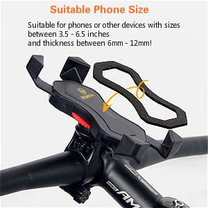 visnfa bike phone mount bike phone holder bicycle phone mount bicycle phone holder 3