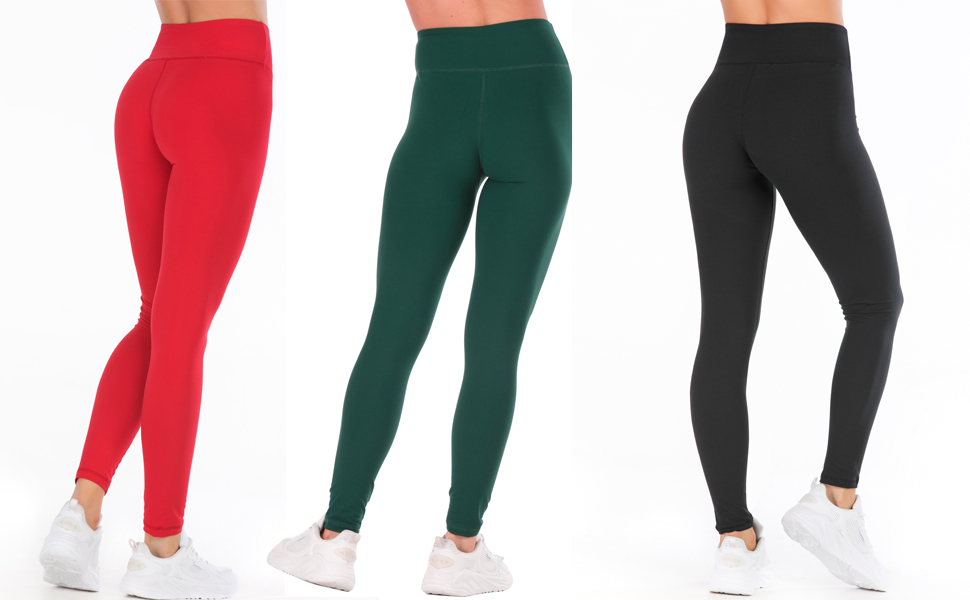 Butter Soft Yoga Pants for Women-Casual Comfortable Basic Workout Leggings