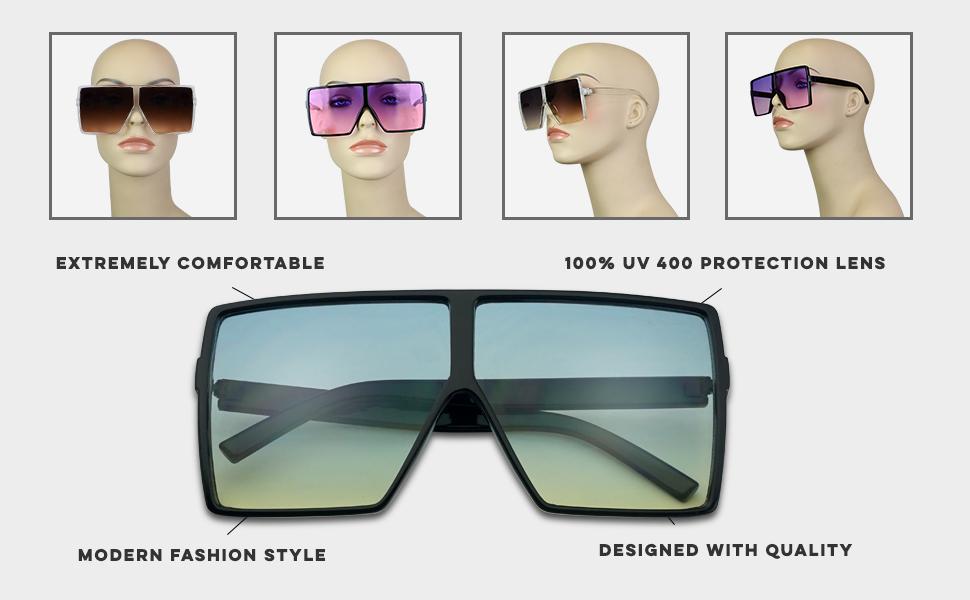 537b76f2d9c4 rectangular betty aviator shades women men unisex high fashion celebrity  kardashian look sunglasses
