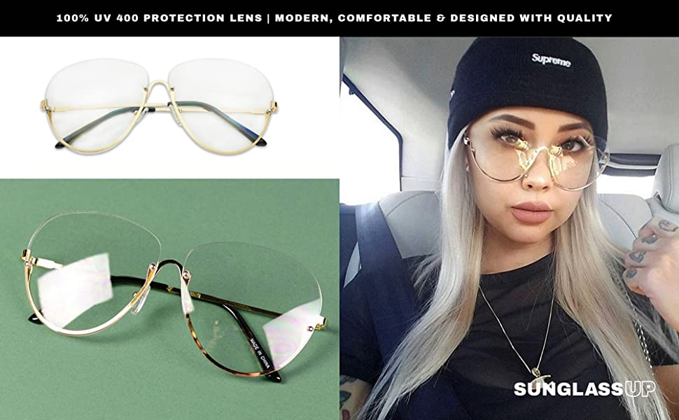 3d22a18ae68 Sexy Hot Asian Girl with Fashion Glasses Blond Hair and Tattoos All Black  Supreme Beanie Outfit