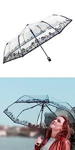 ... SMATI Clear Folding Umbrella ...