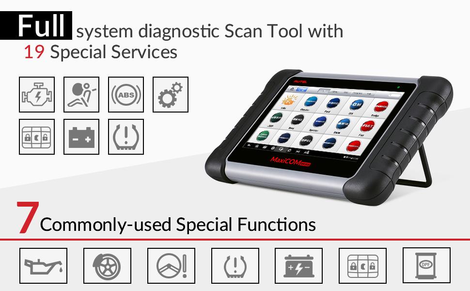 Basic Functions Autel MaxiCOM MK808