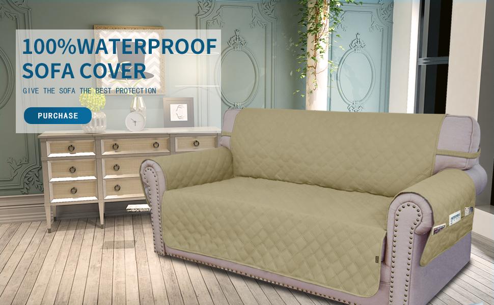 Amazon.com: Funda para sofá de fácil manejo, impermeable ...