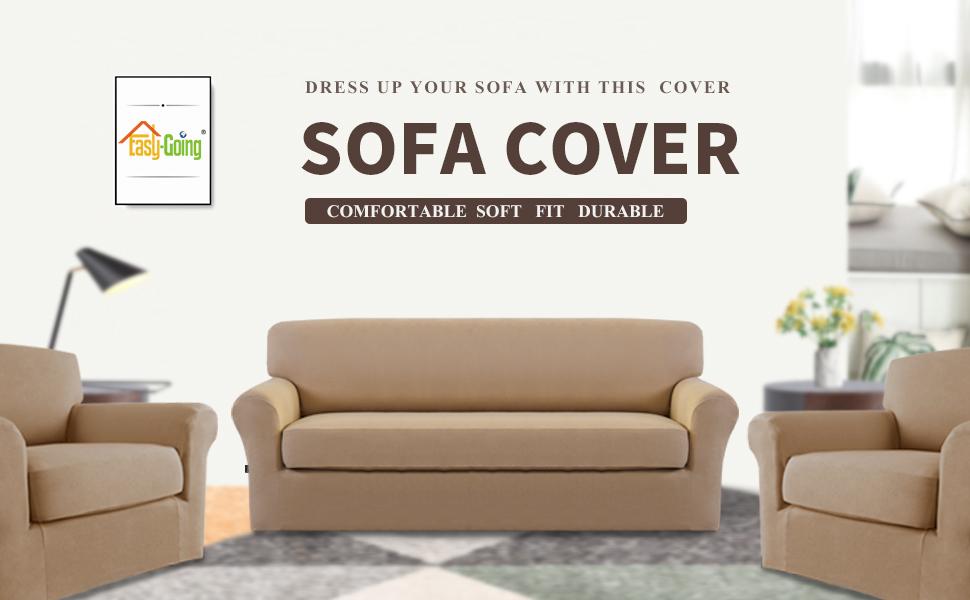2 piece sofa slipcovers