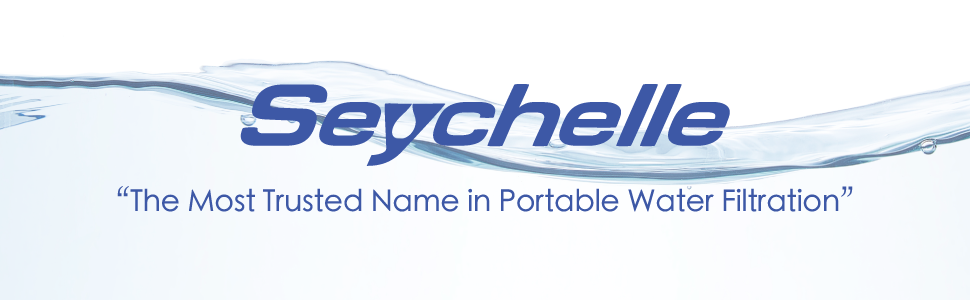 Seychelle water filtration.  The most trusted name in portable water filtration.