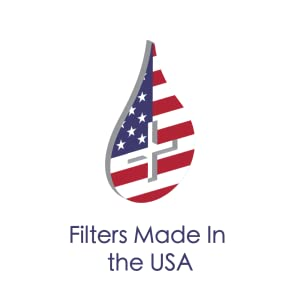 USA made, USA tested filter.