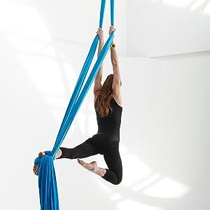 Amazon Com Kurma Yoga Aerial Silks Equipment For Acrobatic Flying