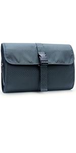 Gray Toiletry Bag