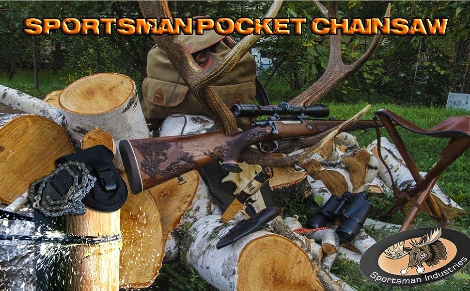 Sportsman Pocket Chainsaw