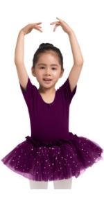 purple tutu, purple leotard with tutu skirt