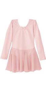 9bdfdbfe2082 Amazon.com  Dancina Flutter Sleeve Skirted Leotard for Girls  Clothing