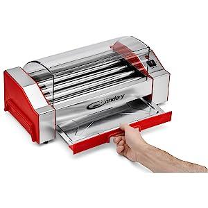 hot dog roller griller candery deli