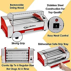 hot dog candery griller